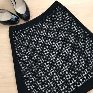 WHBM Laser Cut Skirt